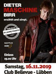 """Dieter """"Maschine"""" Birr erzählt und singt!"""